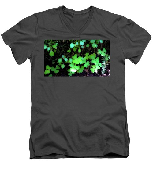 shamrocks #1A Men's V-Neck T-Shirt