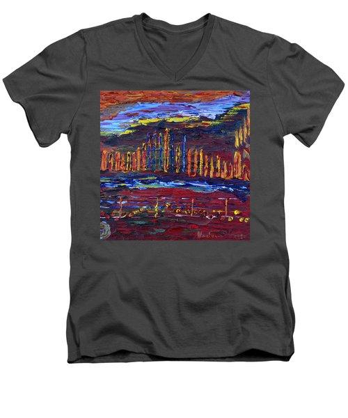 Shanah Tovah Men's V-Neck T-Shirt