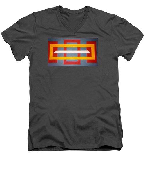 Shapes Men's V-Neck T-Shirt by James McAdams