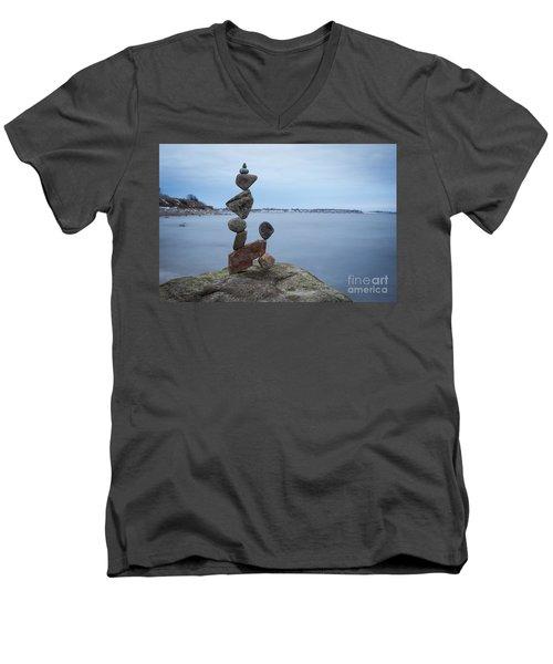 Shapes Men's V-Neck T-Shirt