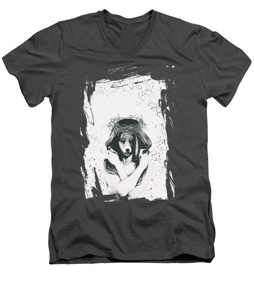 Shapeshifter Men's V-Neck T-Shirt