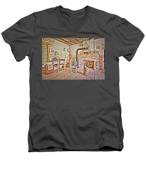 Sharecropper's Respite Men's V-Neck T-Shirt