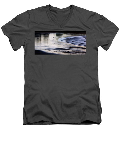 Sharing The Morning Men's V-Neck T-Shirt