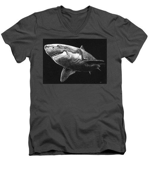 Shark Men's V-Neck T-Shirt