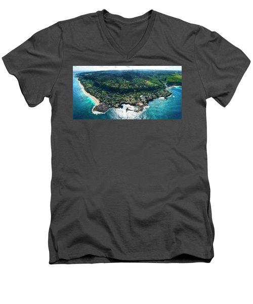 Sharks Cove Overview. Men's V-Neck T-Shirt