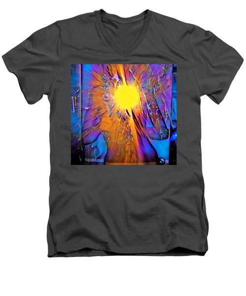 Shattering Perceptions   Men's V-Neck T-Shirt