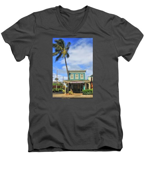 Men's V-Neck T-Shirt featuring the photograph Shave Ice by DJ Florek