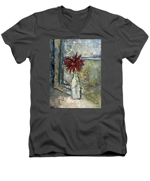 She Soaked In The Sun Men's V-Neck T-Shirt by Kirsten Reed
