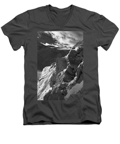 Sheer Alps Men's V-Neck T-Shirt