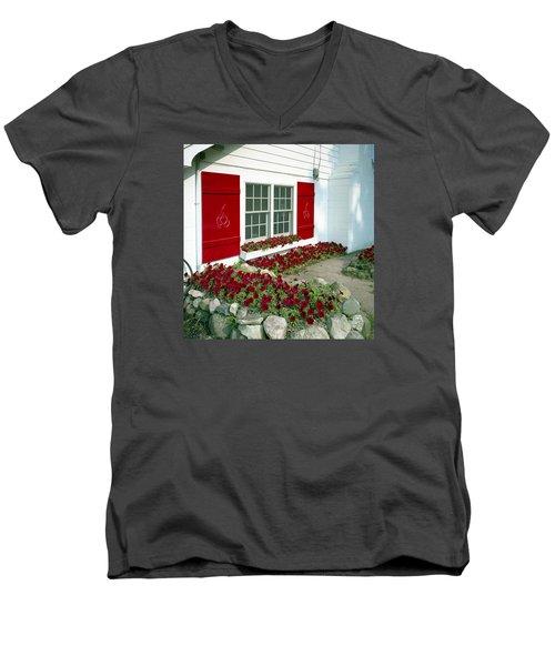 Shelby Flowers Men's V-Neck T-Shirt