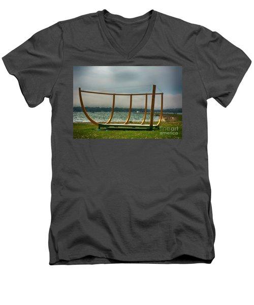 Shell Of A Hull Men's V-Neck T-Shirt