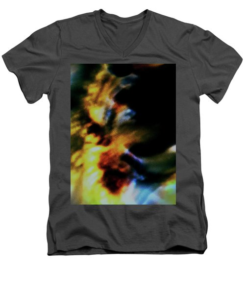 Shell Dancing Men's V-Neck T-Shirt by Gina O'Brien
