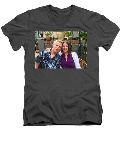 Shellie And Allen Men's V-Neck T-Shirt