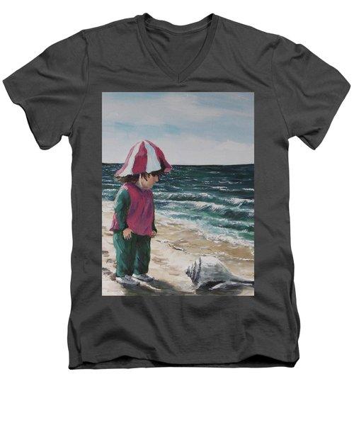 Shello Men's V-Neck T-Shirt