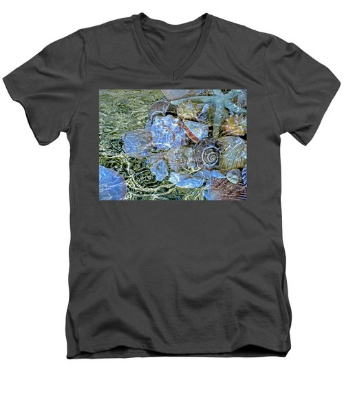 Shells Underwater 20 Men's V-Neck T-Shirt