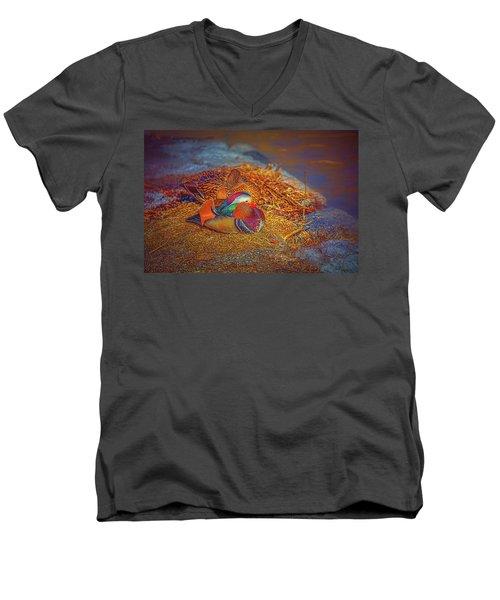 Sheltered #h4 Men's V-Neck T-Shirt