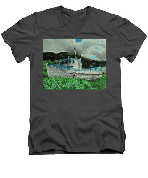 Sherry D Men's V-Neck T-Shirt
