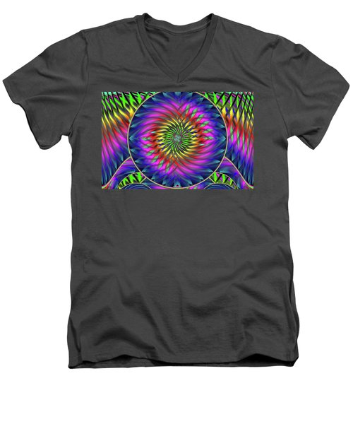 She's Like A Rainbow Men's V-Neck T-Shirt