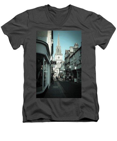 Shine On Me Men's V-Neck T-Shirt