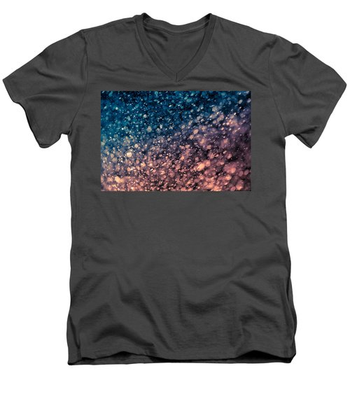 Men's V-Neck T-Shirt featuring the photograph Shine by TC Morgan