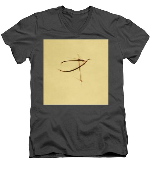 Shining Glyph #04 Men's V-Neck T-Shirt
