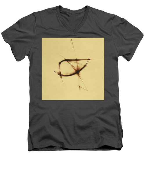 Shining Glyph #12 Men's V-Neck T-Shirt