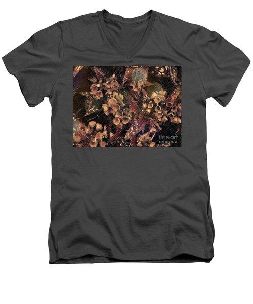 Shining Through The Darkness Men's V-Neck T-Shirt