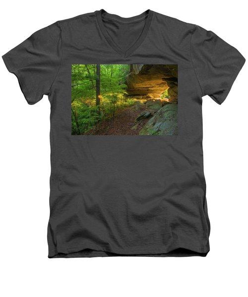 Shining Through.... Men's V-Neck T-Shirt