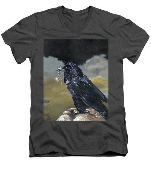 Shiny Men's V-Neck T-Shirt