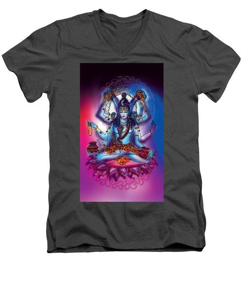 Shiva Abhishek  Men's V-Neck T-Shirt