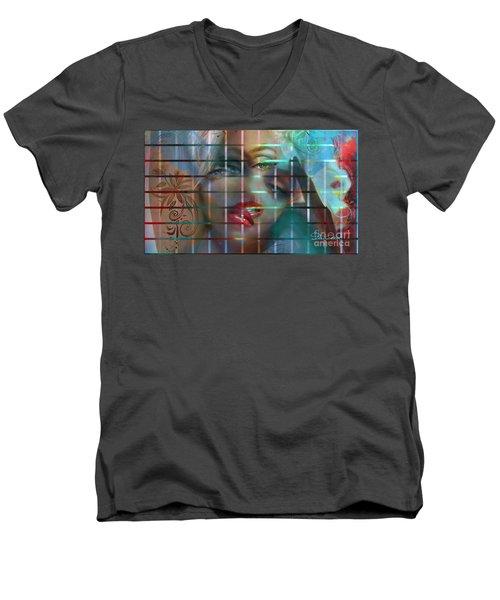 Shizo 1 Men's V-Neck T-Shirt