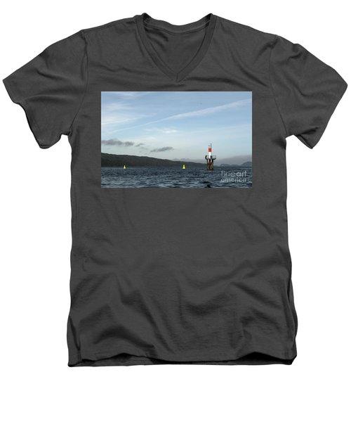 Shoal Marker Men's V-Neck T-Shirt