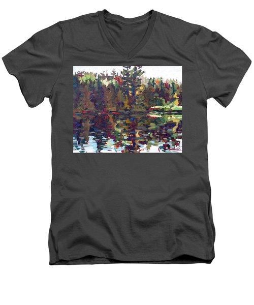Shore Sunrise Men's V-Neck T-Shirt