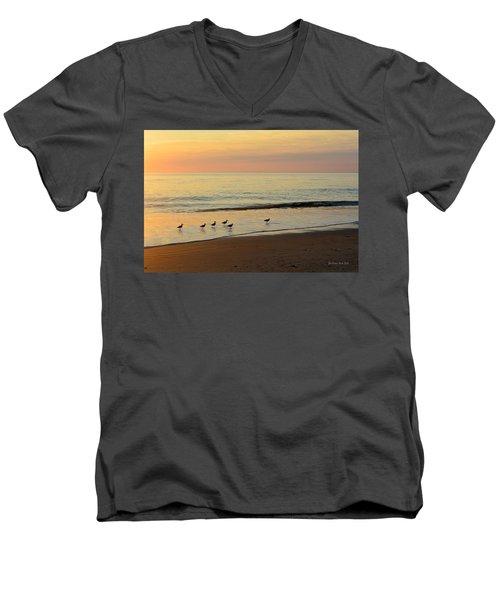 Shorebirds 9/4/17 Men's V-Neck T-Shirt