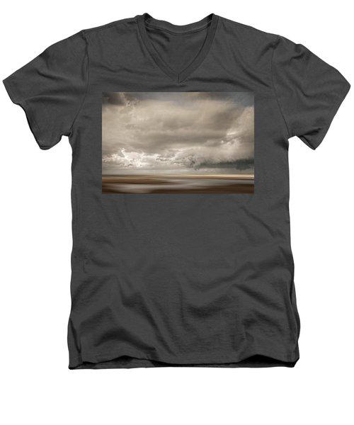 Short Wharf Creek 4 Men's V-Neck T-Shirt