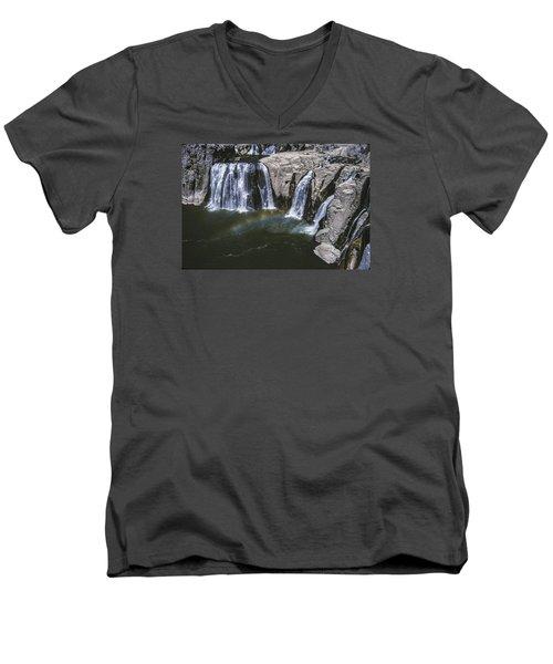 Shoshone Falls Idaho Men's V-Neck T-Shirt