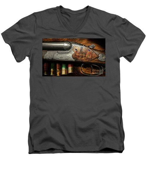 Shotgun  Men's V-Neck T-Shirt