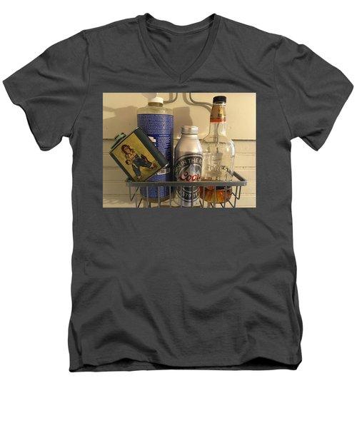 Shower Caddy 2 Men's V-Neck T-Shirt