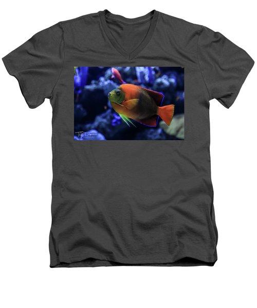 Showoff Men's V-Neck T-Shirt
