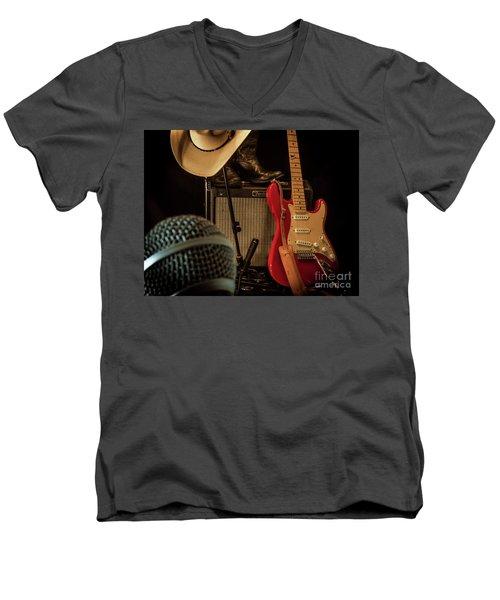 Show's Over Men's V-Neck T-Shirt