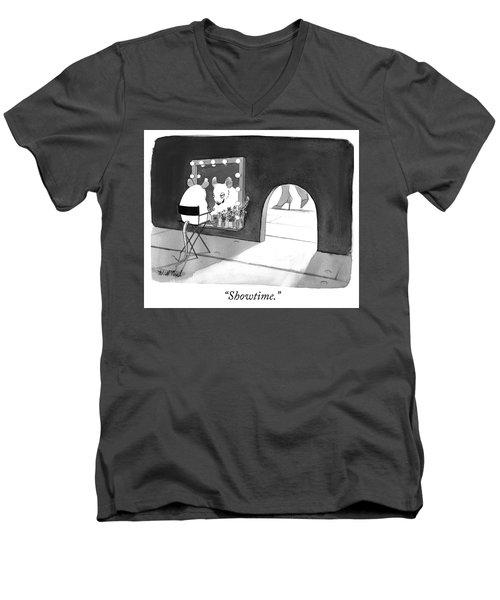 Showtime Men's V-Neck T-Shirt