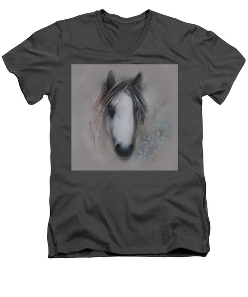 Shy Wisdom Men's V-Neck T-Shirt