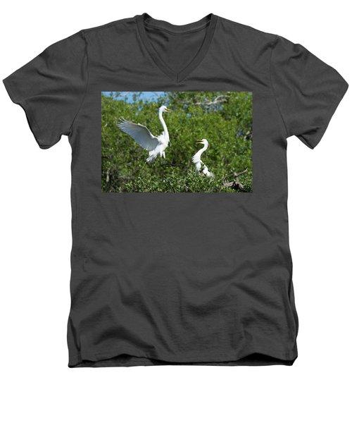 Sibling Rivalry Men's V-Neck T-Shirt