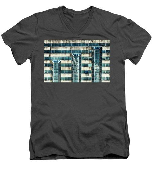 Side Of The Building  Men's V-Neck T-Shirt