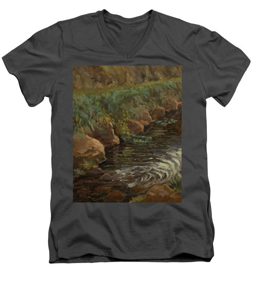 Sidie Hollow Men's V-Neck T-Shirt