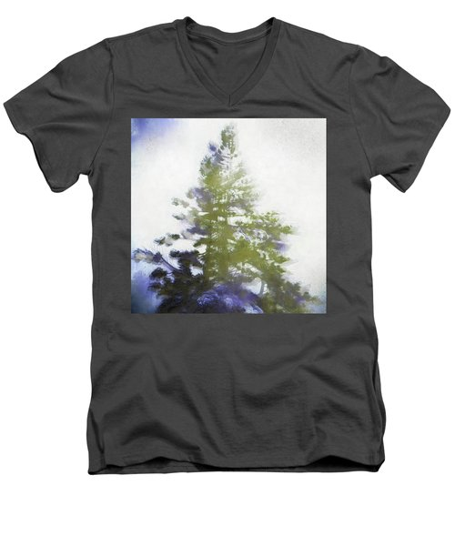 Sierra Book Pines Men's V-Neck T-Shirt