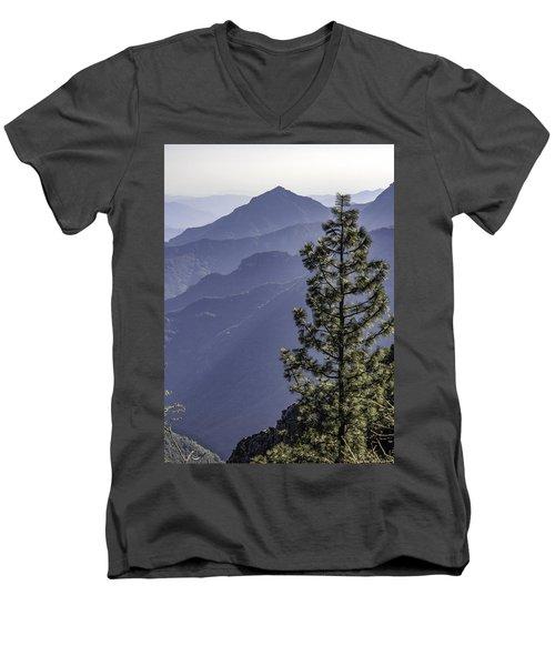 Sierra Nevada Foothills Men's V-Neck T-Shirt