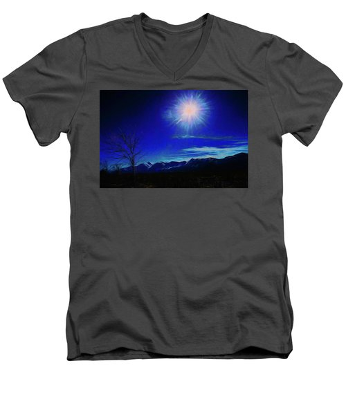 Sierra Night Men's V-Neck T-Shirt