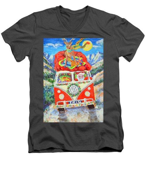 Sierra Santa Men's V-Neck T-Shirt