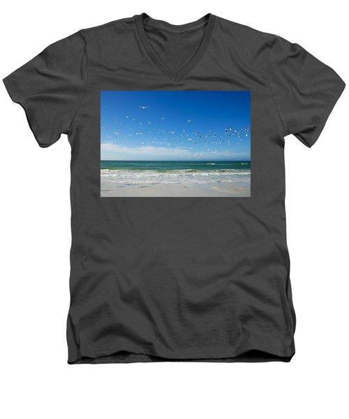 Siesta Key Men's V-Neck T-Shirt